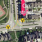 Sign on Street/Lane/Sidewalk- Request for new at 5 CRANARCH WY SE